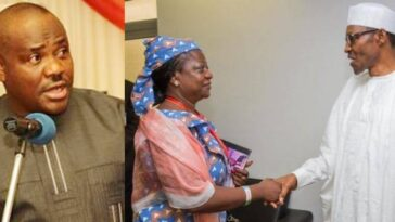 Nigerians Should Protest Against Buhari For Appointing Onochie As INEC Commissioner - Wike 5