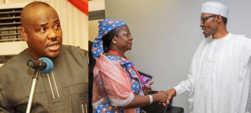 Nigerians Should Protest Against Buhari For Appointing Onochie As INEC Commissioner - Wike 1
