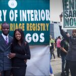 Nigerian Man Joins #EndSARS Protest Immediately After His Court Wedding In Lagos [Photos] 27