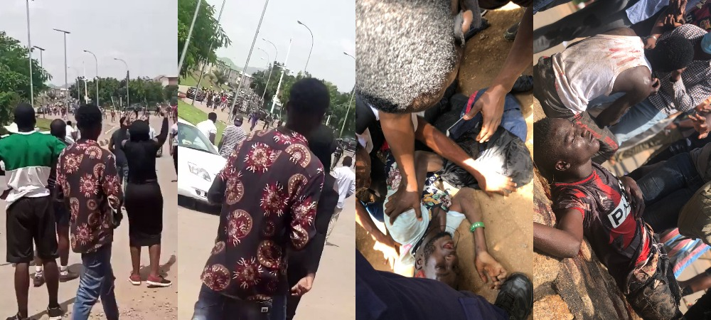 Pro SARS Thugs Attacks Peaceful #EndSARS Protesters In Berger, Abuja [Video] 1