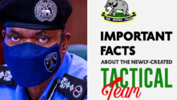 NIgerian Police Reveals 5 Important Facts About The Newly-Created Tactical Team 'SWAT' 6
