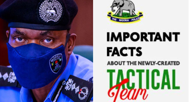 NIgerian Police Reveals 5 Important Facts About The Newly-Created Tactical Team 'SWAT' 1