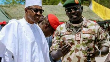 President Buhari Rejects Buratai's Request To Deploy Soldiers To Disperse #EndSARS Protesters 3