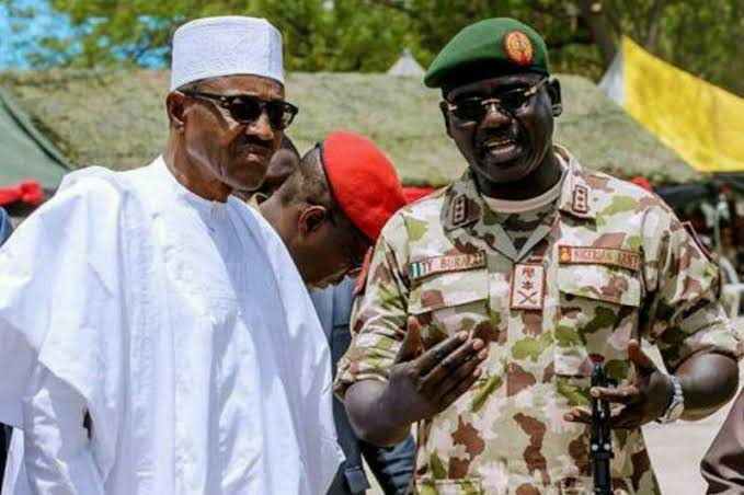 President Buhari Rejects Buratai's Request To Deploy Soldiers To Disperse #EndSARS Protesters 1