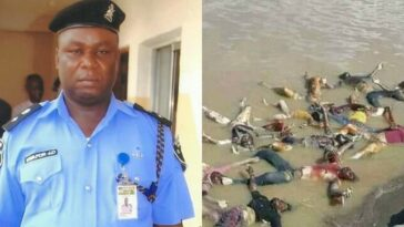 Anambra SARS Boss, CSP James Nwafor Accused Of Killings And Dumping Corpses Inside Ezu River 2