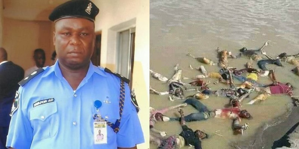 Anambra SARS Boss, CSP James Nwafor Accused Of Killings And Dumping Corpses Inside Ezu River 1