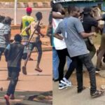 #EndSARS Protest In Alausa Secretariat Disrupted By Weapon Wielding Hoodlums [Video] 28