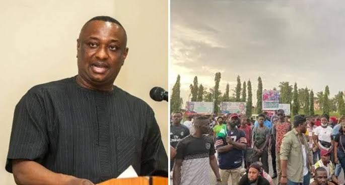 """My Driver Was Killed During #EndSARS Protest In Abuja"" - Labour Minister, Festus Keyamo 1"