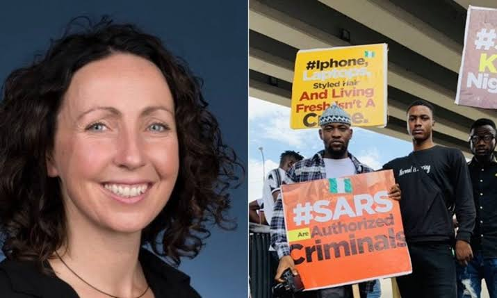 Australian High Commissioner, Claire Ireland Apologizes Over Her Comment About #EndSARS Protest 1
