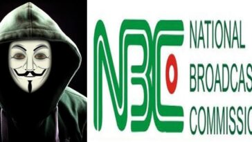 Hacktivist, Anonymous Hacks Twitter Account Of Nigeria's National Broadcasting Commission 3