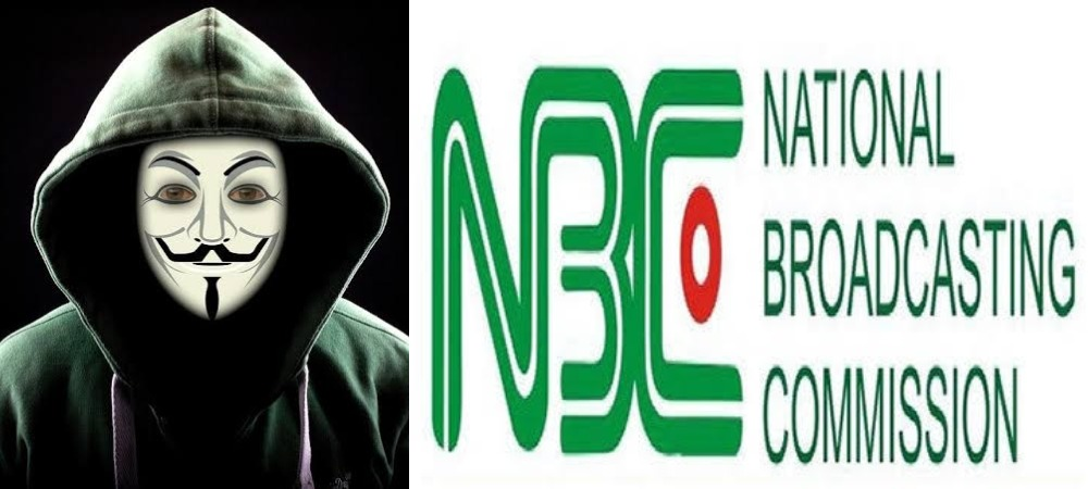 Hacktivist, Anonymous Hacks Twitter Account Of Nigeria's National Broadcasting Commission 1