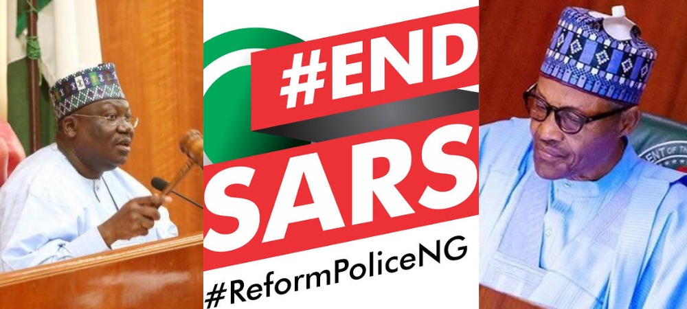 #EndSARS Protesters Should Go Home And Give Buhari Chance To Implement Their Demands - Senate 1