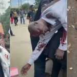 One Dead As Armed Thugs Attacks #EndSARS Protesters With Guns And Machete In Benin [Video] 8