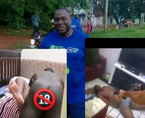 Bank Manager Ivan Kituuka shot dead after stern warning from married man to stop sleeping with his wife - GRAPHIC VIDEO 4