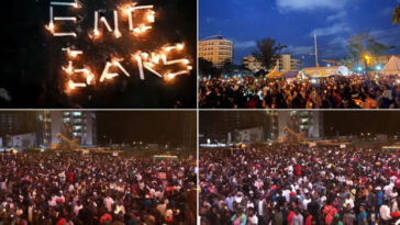 #EndSARS Protesters Hold Candlelight Procession For All Victims Of Police Brutality In Nigeria [Video] 3