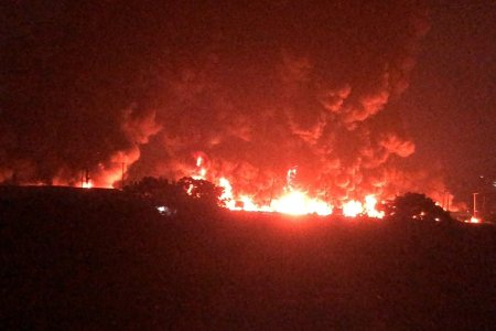 Tragedy Strikes As Two Petrol Laden Tankers Explodes On Otedola Bridge In Lagos [Video] 1