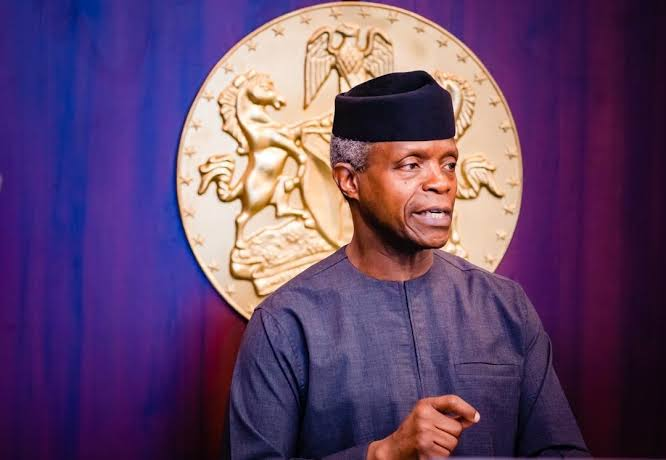 """#EndSARS: """"We Are Sorry"""" - Osinbajo Apologizes To Nigerians, Admits Government's Fault 1"""