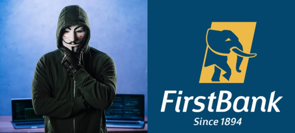 Hacktivist, Anonymous Shuts Down First Bank Website For Allegedly Freezing #EndSARS Protest Fund 1