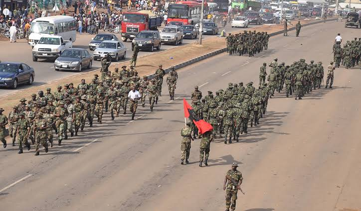 Nigerian Army Launches 'Operation Crocodile Smile' Nationwide Amidst #EndSARS Protests 1