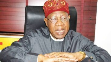 FG Won't Pay Any Ransom To Rescue Abducted Kagara Students – Lai Mohammed 6
