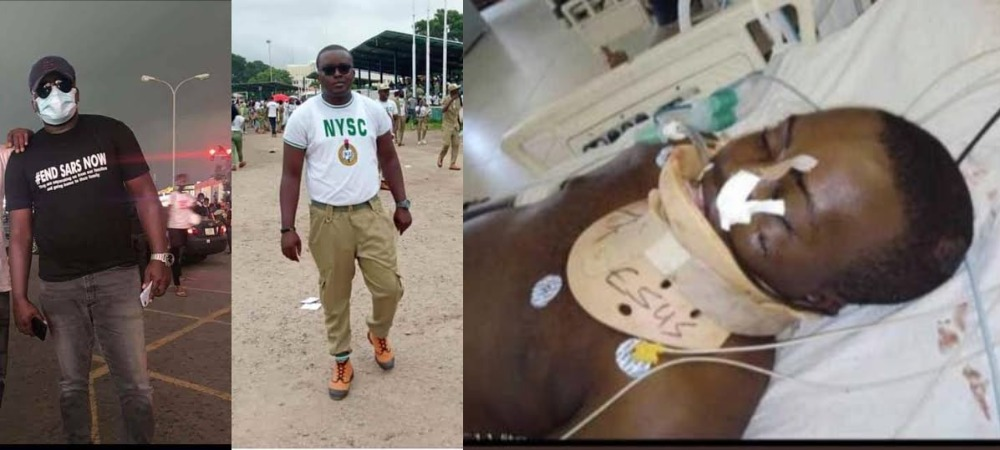 #EndSARS Protester, Anthony Onome Dies After Being Stabbed Multiple Time By Thugs In Abuja [Video] 1