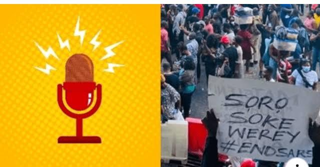 #EndSARS Protesters Launches Helpline Centre And Online Radio 'Soro Soke' [Audio] 1
