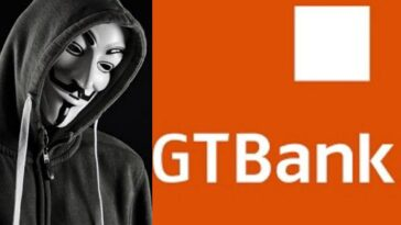 #EndSARS: Anonymous reportedly hacks GTBank, credits N5,000 to current account users 15