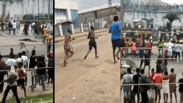 #EndSARS Protest: Suspected Thugs Have Freed Prisoners In Another Prison In Benin City [Video] 11