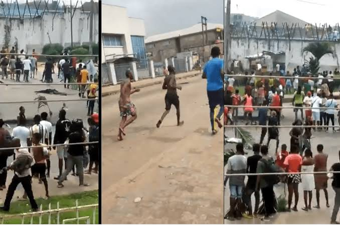#EndSARS Protest: Suspected Thugs Have Freed Prisoners In Another Prison In Benin City [Video] 1