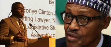 President Buhari Sacks Nigerian Copyright Commission Chairman, Tonye Clinton Jaja 24