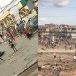 #EndSARS Protest: Armed Thugs Attacking People And Vandalising Properties In Ketu, Lagos [Video] 8