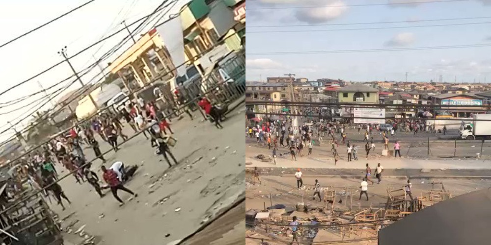 #EndSARS Protest: Armed Thugs Attacking People And Vandalising Properties In Ketu, Lagos [Video] 1