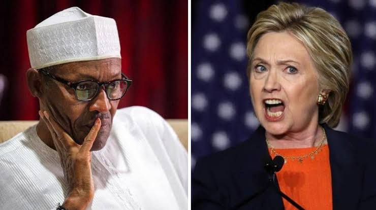 Hillary Clinton Asks President Buhari, Nigerian Army To Stop Killing #EndSARS Protesters 1