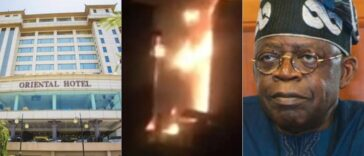 Tinubu's Oriental Hotel In Lekki Set Ablaze [Video] 25
