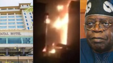 Tinubu's Oriental Hotel In Lekki Set Ablaze [Video] 11