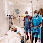 Lekki Shooting: Sanwo-Olu Visits Wounded Victims, Blames 'Forces Beyond His Control' 36
