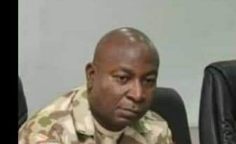 Who is Ifo Omata: See the face of the Army Commander who ordered the shooting of #EndSARS protesters at Lekki Toll Gate 11