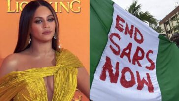 Lekki Massacre: I'm Heartbroken To See The Senseless Brutality Taking Place In Nigeria - Beyonce 9