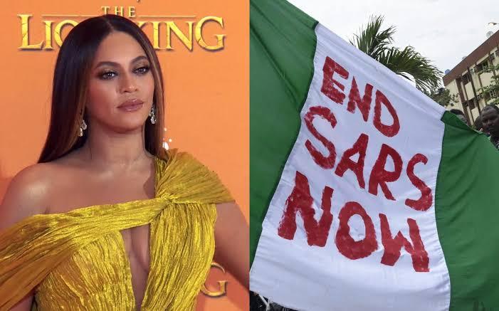 Lekki Massacre: I'm Heartbroken To See The Senseless Brutality Taking Place In Nigeria - Beyonce 1