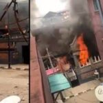 Angry Mob Burns Down Governor Sanwo-Olu's Family House In Lagos Island [Video] 28