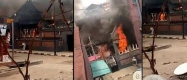 Angry Mob Burns Down Governor Sanwo-Olu's Family House In Lagos Island [Video] 25