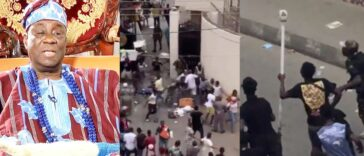 Hoodlums Attacks Oba Of Lagos, Steals His Staff Of Office, Burns His Palace [Video] 26