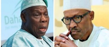 Obasanjo Asks President Buhari To Restrain Military From Shooting #EndSARS Protesters 26