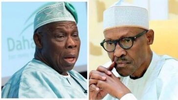 Obasanjo Asks President Buhari To Restrain Military From Shooting #EndSARS Protesters 12