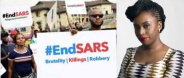 """Nigeria Is Murdering Its Citizens"" - Chimamanda Ngozi Adichie Writes About #EndSARS Protest 24"
