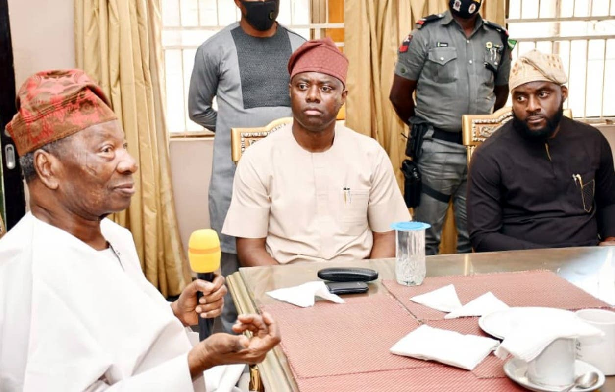 King Of Ogbomoso Rejects Governor Makinde's N100m Donation To Rebuild Vandalised Palace 1