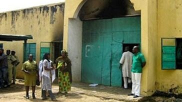 Ikoyi Prison on fire as soldiers, police battle with hoodlums over attempted jail break 17
