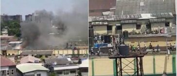Many Imates Shot As Army, Police Foil Attempted Jail Break At Ikoyi Prison, Lagos [Video] 30