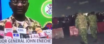 Nigerian Army General, John Enenche Says Videos Of Lekki Shooting Were Photoshopped [Video] 25