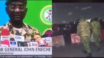 Nigerian Army General, John Enenche Says Videos Of Lekki Shooting Were Photoshopped [Video] 10